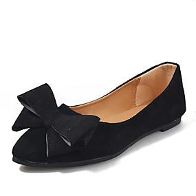 voordelige Damesinstappers & loafers-Dames Loafers & Slip-Ons Platte hak Elastische stof Herfst winter Zwart / Wijn / Grijs