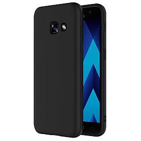 olcso Mobiltelefon tokok-Case Kompatibilitás Samsung Galaxy A5(2017) Ütésálló / Porálló Fekete tok Egyszínű Puha TPU mert A5 (2017)