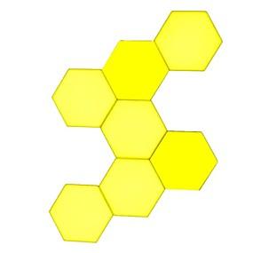 """Недорогие """"Умный"""" свет-lifesmart ls160 креативная геометрия в сборе интеллектуальная панель управления свет - молочно-белый стиль s 7set creative light"""