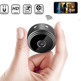billige Spesialtilbud-a9 ip kamera sikkerhet kamera mini kamera dv wifi mikro lite kamera videokamera videoopptaker utendørs nattversjon hjemmeovervåking hd trådløs fjernovervåkning telefon os android app 1080p