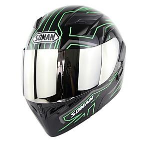 billige Nyankomne i august-soman snu motorsykkelhjelm med utskiftbar linse k5 full ansikt motorsykkel racing hjelm dobbeltvisir dot sm955
