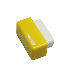abordables Nouvelles arrivées en août-Outzone nitro obd2 performance puce fiche et entraînement tuning boîte de puissance pour voiture essence essence jaune - plus de 35% de puissance et 25% de couple 2 pc jaune