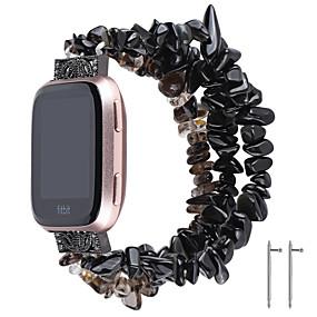 billige Smartwatch Bands-Klokkerem til Fitbit Versa / Fitbit Versa Lite Fitbit Smykkedesign Keramikk Håndleddsrem