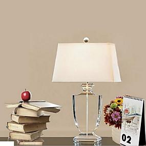 billige Bordlamper-Moderne Moderne Dekorativ Bordlampe Til Soverom Krystall 220V