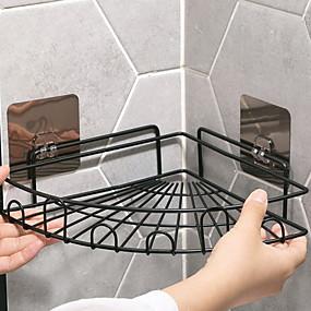 hesapli Banyo Rafları-Banyo Rafı Yeni Dizayn / Havalı Modern Metal 1pc Duvara Monte Edilmiş