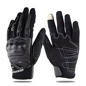 abordables Nouvelles arrivées en août-gants de doigt de moto respirant d'été plein écran tactile moto racing racing gants cg668