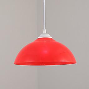 billige Hengelamper-Bowl Anheng Lys Omgivelseslys Malte Finishes Metall Kreativ 110-120V / 220-240V