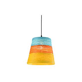 billige Hengelamper-wrattan vevet pendellys enkelt strand pendellamper hånd vevet oppheng belysning for bar spisestue restaurant