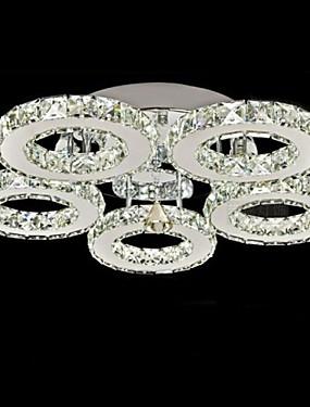 お買い得  ホーム&ガーデン-UMEI™ 埋込式 アンビエントライト 電気メッキ メタル クリスタル 90-240V Warm White / White LED光源を含む / 集積LED
