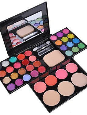 tanie Oczy-40 kolorów Cienie do powiek / Pudry Oko Matowy / Migotać / Połysk / przydymiony Makijaż codzienny / Makijaż bajkowy Kosmetyk