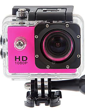 billige Sport og friluftsliv-SJ4000 Action Kamera / Sportskamera GoPro vlogging Vanntett / Anti-Sjokk / Alt i en 32 GB 12 mp 4000 x 3000 pixel Dykking / Surfing / Universell 1.5 tommers CMOS 30 m