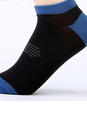 cheap Sports & Outdoors-Socks Men's Breathable Sweat-wicking Low-friction For Yoga Pilates Golf 6 Pairs Sports Spring Summer Fall Random Colors