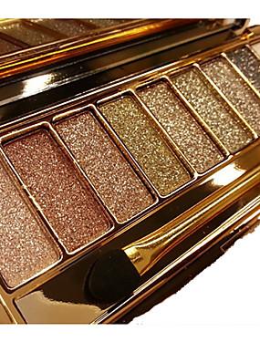 cheap Makeup For Eyes-9 Colors Eyeshadow palette diamond bright shining colorful makeup eye shadow flash glitter makeup set