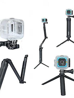 abordables Sports & Loisirs-Coque Etanche Coque Monopied Trépied Pour Caméra d'action Polaroid Cube Plongée Surf Universel Polycarbonate