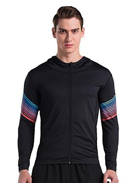 povoljno Sport és outdoor-Vansydical® Muškarci Sportski Moda Majice Sposobnost Dugih rukava Odjeća za rekreaciju Quick dry Visoka elastičnost