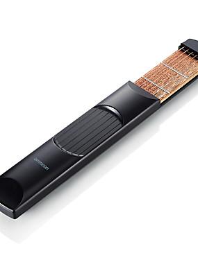 billige Guitarer-Elektrisk Gitar Musikk Instrument Ammoon Bærbar for nybegynner Moro Lomme 6pcs