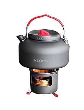 billige Sport og friluftsliv-ALOCS Stativer Turkjele Primus Kaffe og te til Kobber Hard Alumina utendørs Camping & Fjellvandring Picnic
