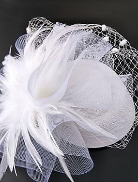 olcso Esküvők & események-Nettó Fascinators / Kalap / Fejfedők val vel Virág 1db Esküvő / Különleges alkalom Sisak