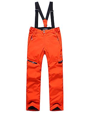 billige Sport og friluftsliv-Phibee Herre Skibukser Vanntett Vindtett Varm Ski & Snowboard Polyester Bukser Snow Bib Bukser Skiklær
