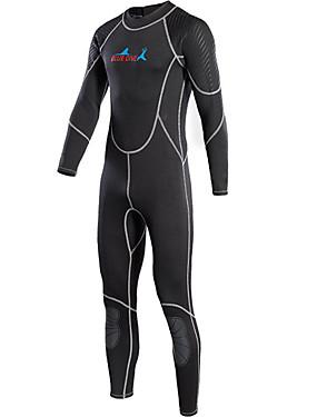 povoljno Sport és outdoor-Bluedive Muškarci Dugo mokro odijelo 2mm Neopren Ronilačka odijela Ugrijati Quick dry Dugih rukava Povratak Zipper Štitnici za koljena - Plivanje Ronjenje Surfanje Kolaž / Rastezljivo