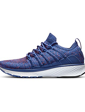 cheap Sports & Outdoors-Xiaomi Men's Sneakers Rubber Exercise & Fitness Walking Running Lightweight Breathable Anti-Shake / Damping Knit Black Blue Grey / Cushioning