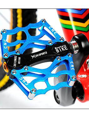 저렴한 스포츠 & 아웃도어-Acacia 산악 자전거 페달 플랫&플랫폼 안티 슬립 견고함 쉬운 설치 알루미늄 합금 용 싸이클링 도로 자전거 산악 자전거 BMX 오렌지