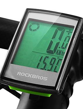 povoljno Sport és outdoor-ROCKBROS BC355 Ciklokompjutori Speed Cadence Sensor Mjerač otkucaja srca Vodootporno Bežično pozadinsko osvjetljenje Cestovni bicikl Mountain Bike Biciklizam
