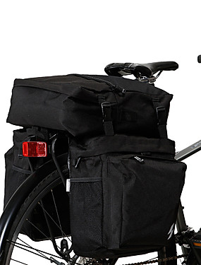זול ספורט ושטח-SAHOO 15 L תיקים למטען האופניים רכיבה על אופניים חוץ עמיד תיק אופניים טרילן תיק אופניים תיק אופניים רכיבה על אופניים פעילות חוץ קורקינט