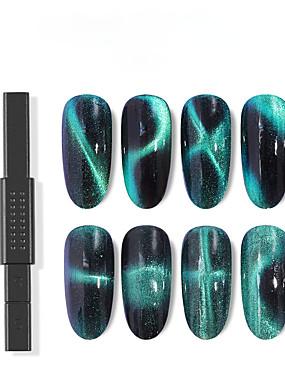 voordelige Ander Gereedschap-1pc Metallic Voor Vingernagel Beste kwaliteit Nagel kunst Manicure pedicure Meetkundig Dagelijks