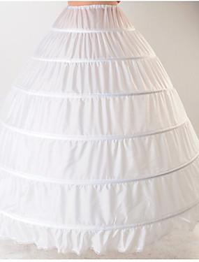 povoljno Igračke i hobiji-Nevjesta Classic Lolita 1950-te Slojevito Haljine Petticoat Krinolina Žene Djevojčice Kostim Obala Vintage Cosplay Pamuk Vjenčanje Party Princeza