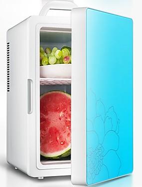 abordables Aparatos de vida del coche-Refrigerador de 16 litros para automóviles y refrigerador de refrigeración de doble núcleo portátil más cálido para la oficina de camiones de automóviles al aire libre