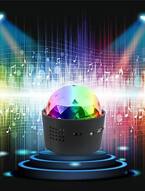 halpa esitysvalot-loende langaton disko pallovalot akkukäyttöinen ääni aktivoitu led juhlatila valoa mini kannettava rgb dj vaihevalo usb