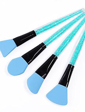 voordelige Nagelborstels-4pcs silica Gel Nail Art Tool Voor Nagelriem Beste kwaliteit / Duurzaam Message Series Nagel kunst Manicure pedicure Stijlvol Dagelijks