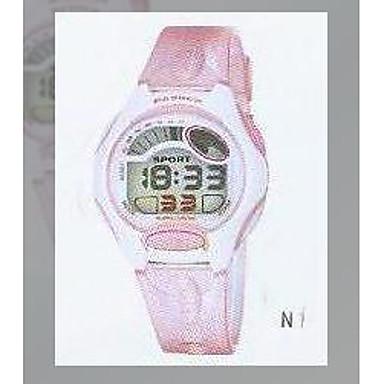 pasnew sportovní hodinky s barevným růžové PSE-281B-N1 (bsn053)