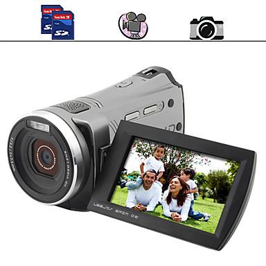 famiglia videocamera hd con 3 pollici a schermo doppio slot per schede SD (dc021)