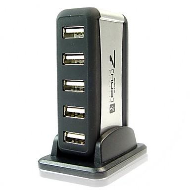 7-port usb 2.0 u / usb 1.1 kompaktni prijenosni hi-speed hub toranj podatkovni čvor