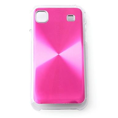 beskyttende aluminiumskabinet til Samsung I9000 - pink