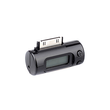 Car FM Transmitter and Remote Control for iPhone and iPod