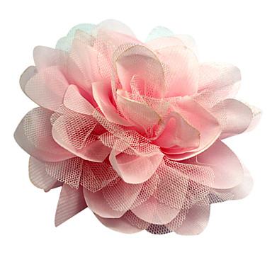 magnífico de tul / poliéster boda con las flores de novia / ramillete / casco (más colores)