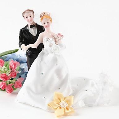kake toppers bruden og brudgommen figurer kake topper