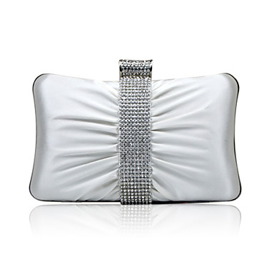 Gorgeous Silk With Austria Rhinestones Evening Handbags More Colors Available