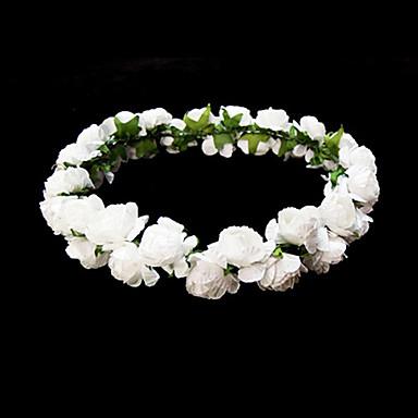 dejlig papir blomst bryllup blomsterpige medaljon