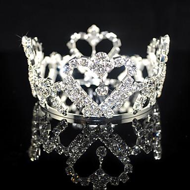 smukke legering brude Tiara / medaljon