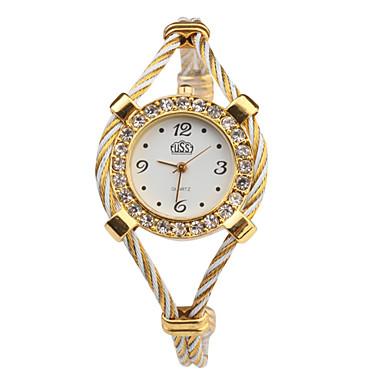 pentru Doamne Ceas La Modă Ceas de Mână Ceas Brățară Quartz Bandă Multicolor Alb
