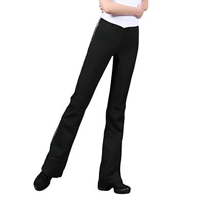 Γυναικεία Παντελόνι για γιόγκα - Μαύρο / Άσπρο Αθλητισμός Παντελόνια Γιόγκα, Μπαλέτο, Πιλάτες Ρούχα Γυμναστικής Ελαφρύ, Αντιστατικό, Αναπνέει Ελαστικό