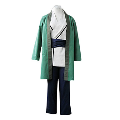 Inspired by Naruto Tsunade Anime Cosplay Costumes Cosplay Suits Kimono Patchwork Long Sleeve Pants Belt Cloak Kimono Coat For Female