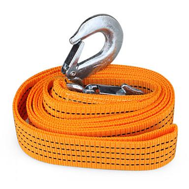 auto carro attrezzi cinghia corda con ganci (3 metri, 3 tonnellate)