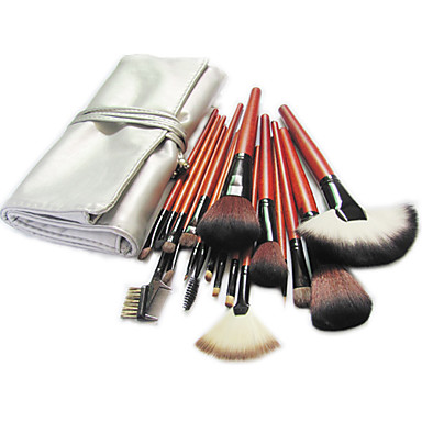 18pcs Četke za šminku profesionalac Četka Setovi Pony Brush / Nylon Brush / Synthetic Hair Big Četka / Klasik / Srednja četkica