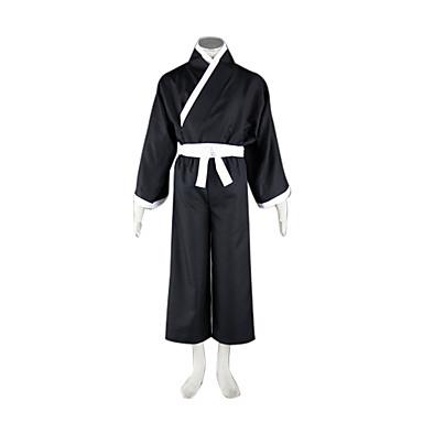 Inspired by Cosplay Cosplay Anime Costumes  Suits / Kimono Patchwork White Long SleeveKimono Coat / Vest / Hakama pants /