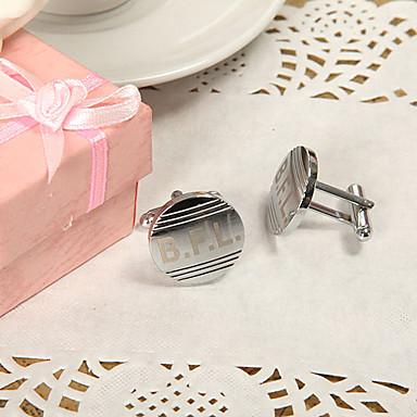 Ψευδάργυρο κράμα Χειροπέδες & Κλιπ Γραβάτας Γαμπρός Κουμπάρος Γάμου Επέτειος Γενέθλια